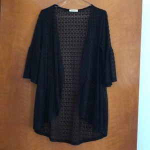 Mod Ref Tops - ☀️ SALE!!! ☀️ Black Lace Kimono 🖤